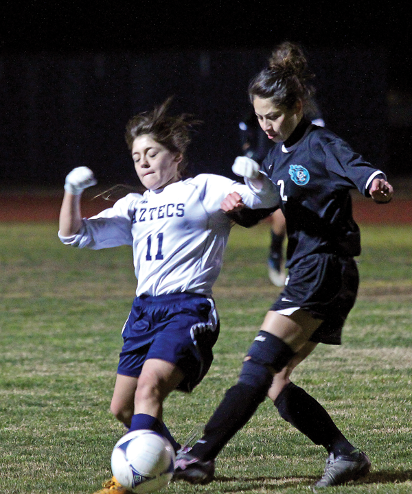Alba leads Aztecs to one-goal win