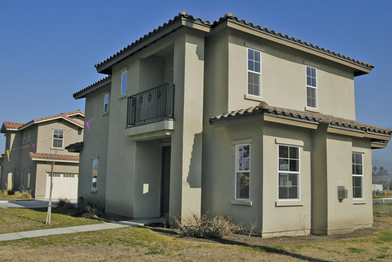 Townhomes take two steps toward completion