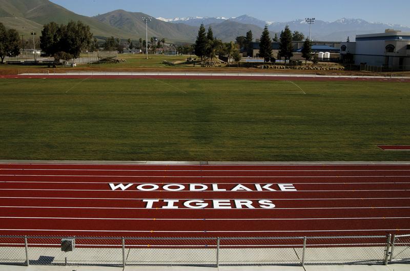 Woodlake High School Stadium renovation is … On Track