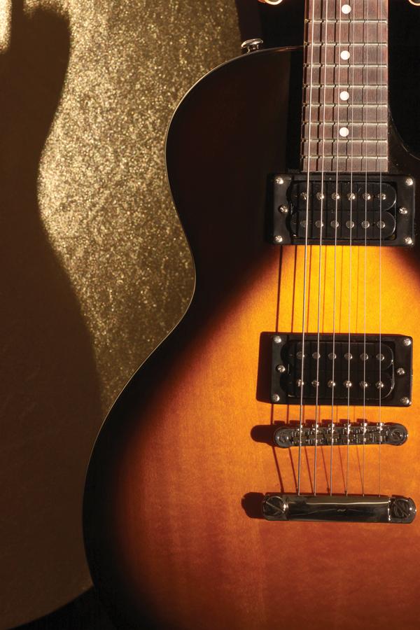 'Star' guitar plays  at PC