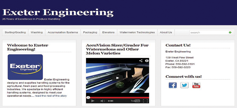 Exeter Engineering unveils new site, social media