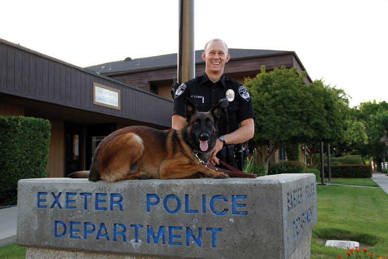 Exeter takes top awards at Sierra K9 Trials