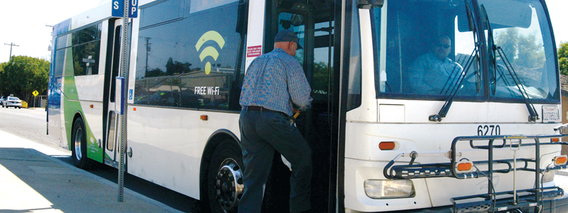 Visalia Transit to shorten Route 12, reduce number of buses on Route 9 thru Exeter and Farmersville