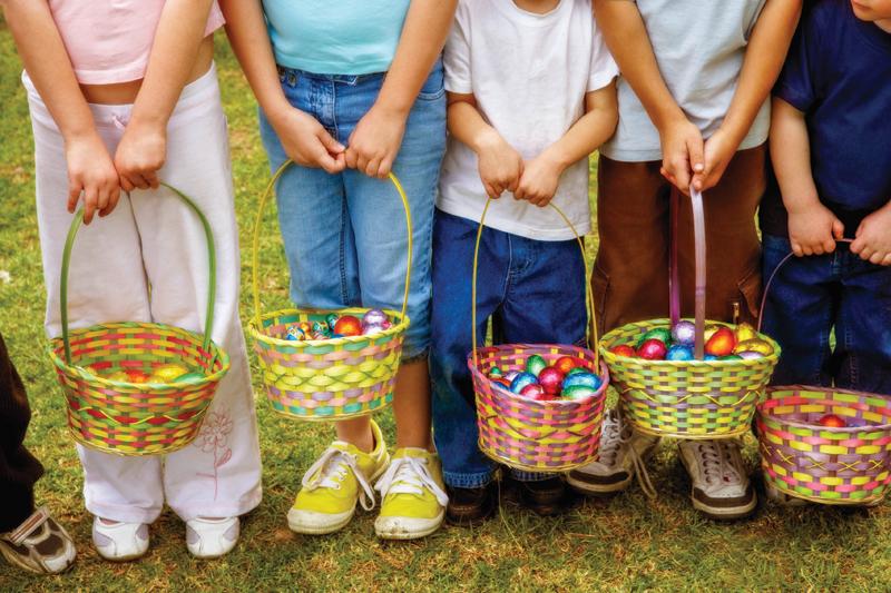 Area egg hunts get kids hopping
