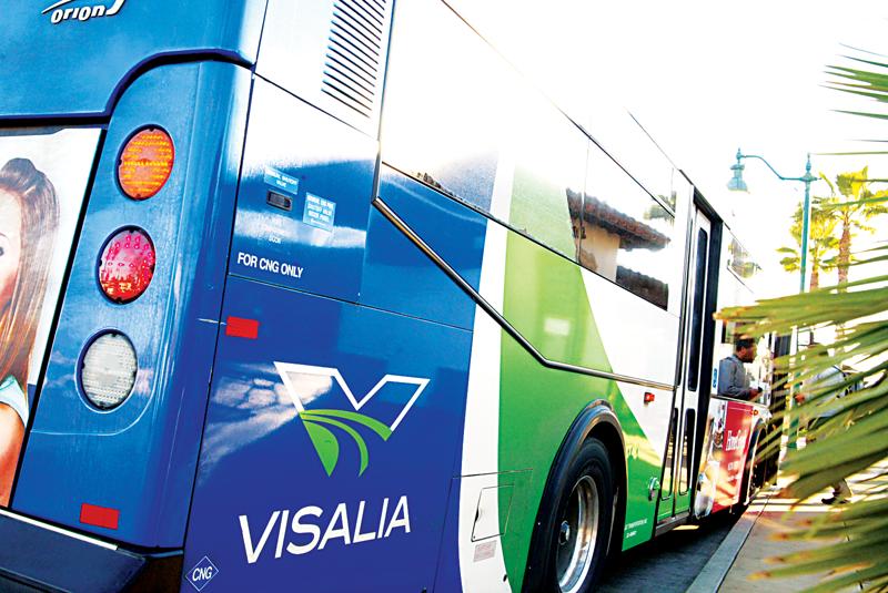 Visalia Transit upgrades bus tech
