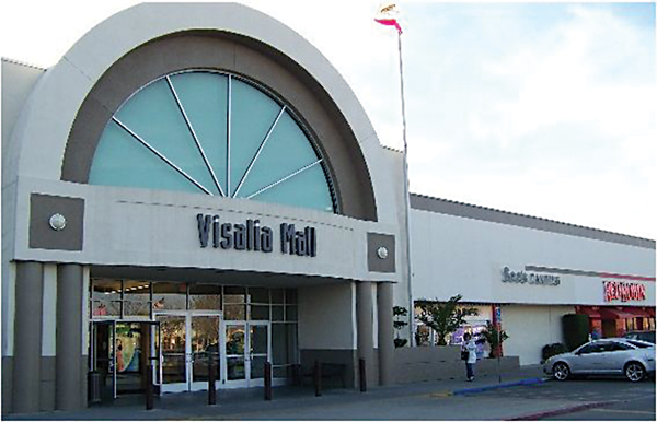 Visalia Mall – A First in California