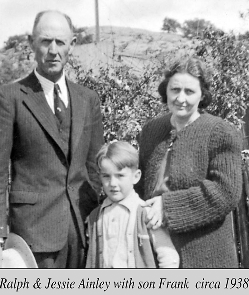Tiger stripes run through Ainley family history