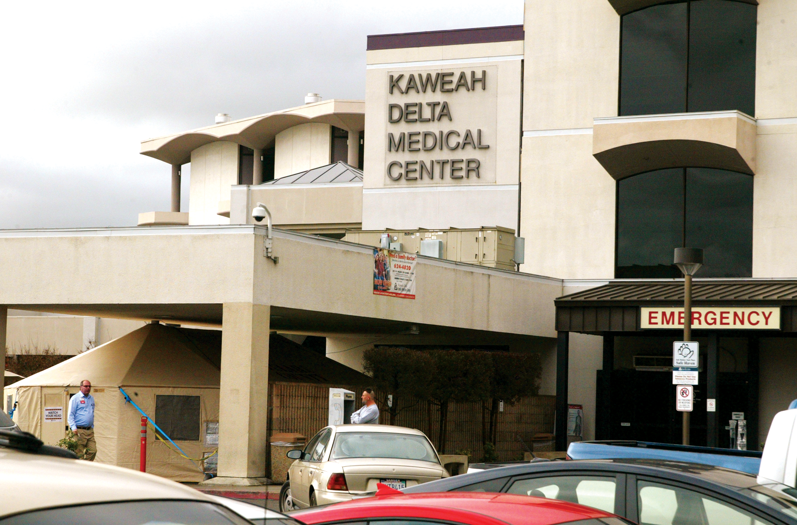 Busy ER for Kaweah Delta forces maximization of space