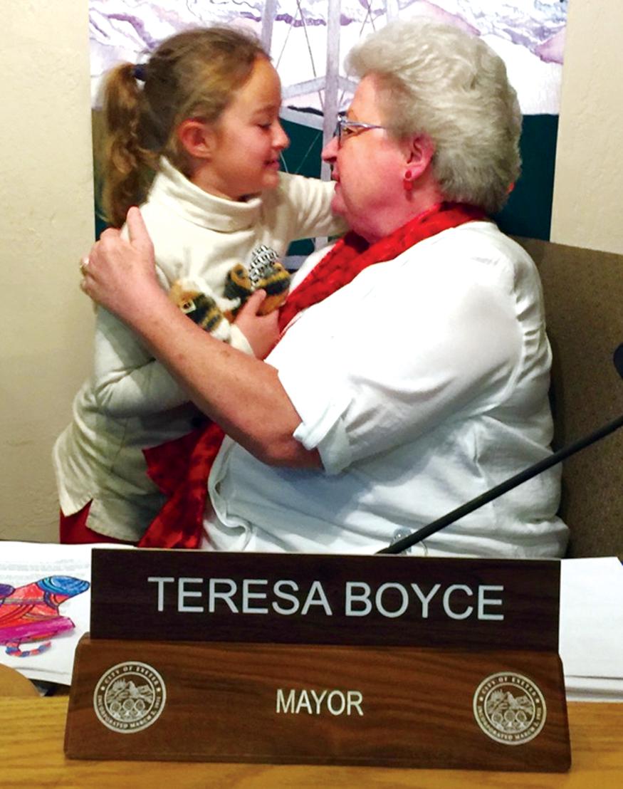 Exeter's Teresa Boyce reclaims life, gains mayoral post