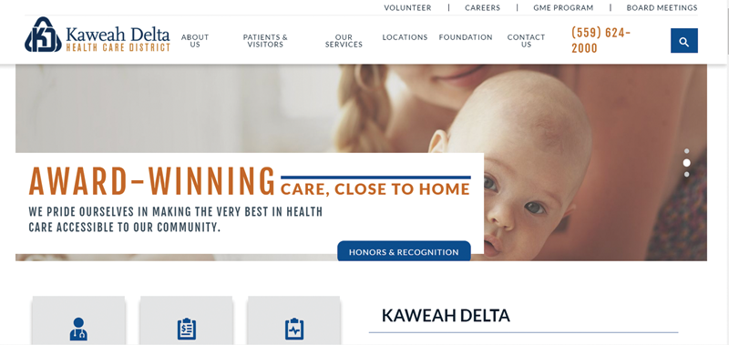Kaweah Delta gives web site a facelift