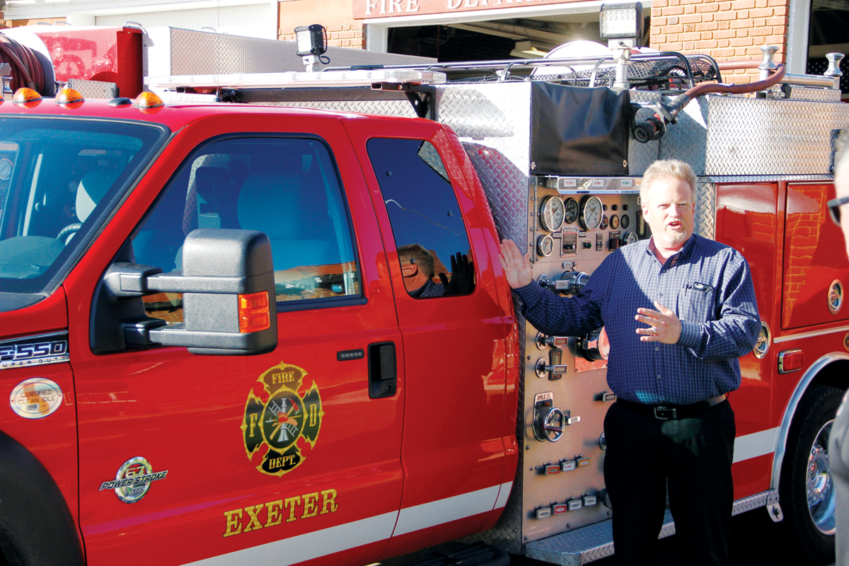Exeter station fires up new units