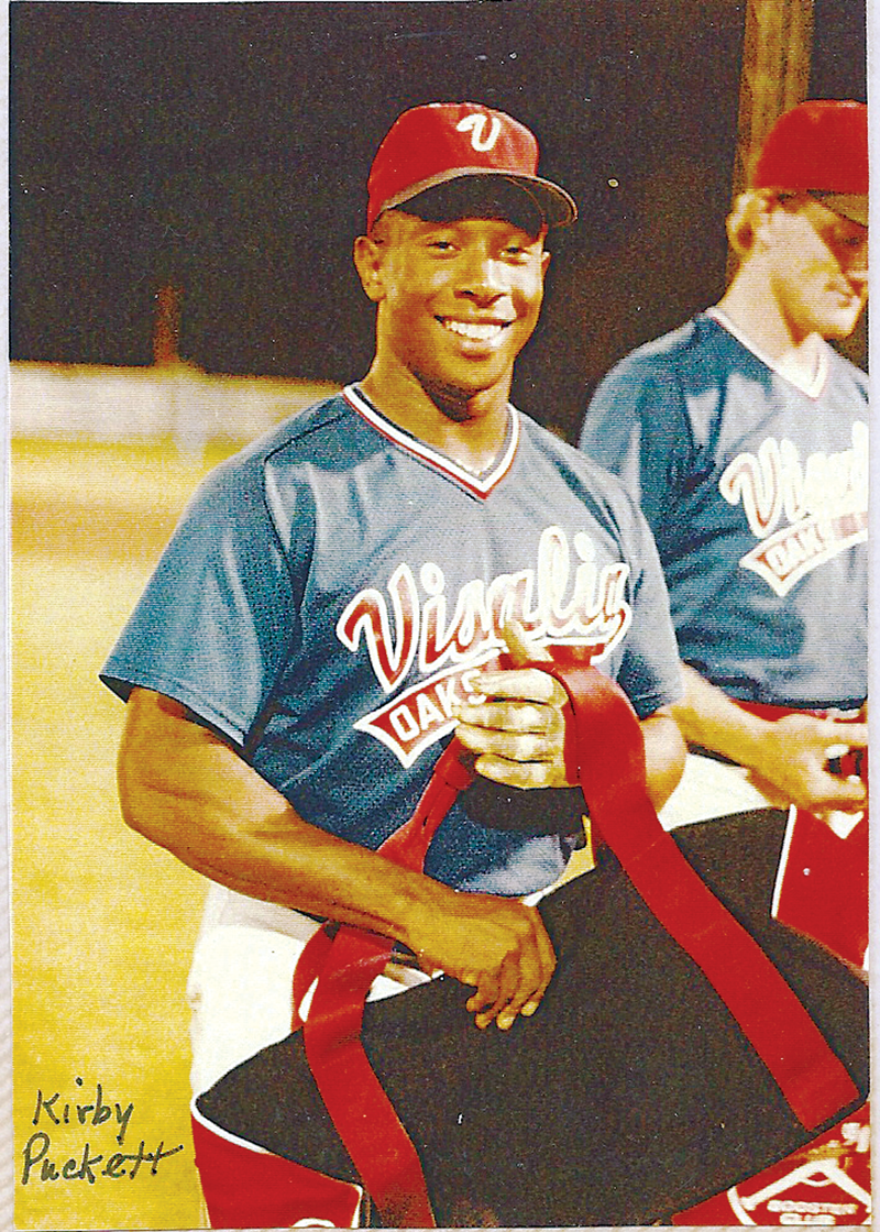 Puckett enshrined in Cal League Hall of Fame