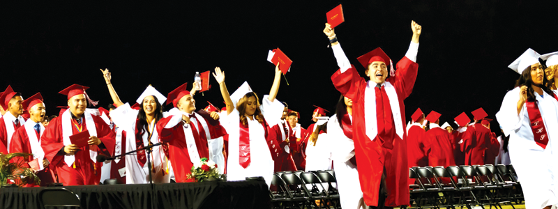 Lindsay graduates soar toward dreams