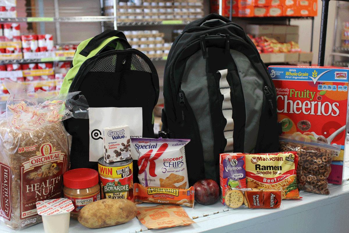 Exeter school district and Food Link partner up for Back Packs for Kids program