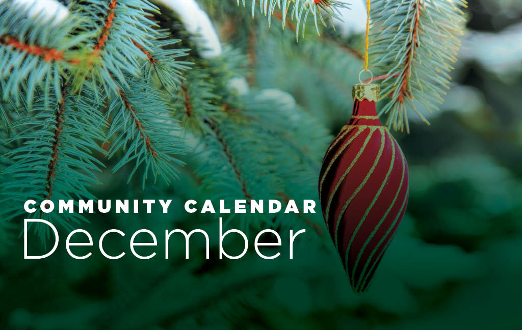 Community Calendar: December
