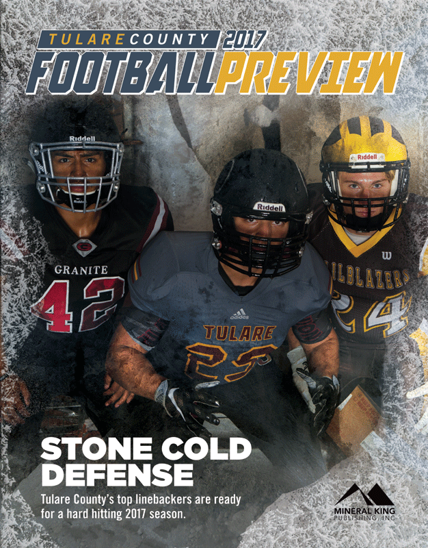 The 2017 Tulare County Football Preview is available at these nearby locations