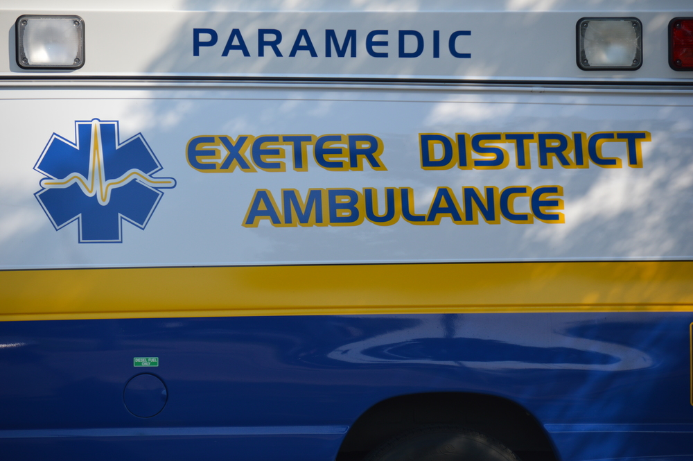 Exeter District Ambulance swears in third member at first meeting in two months
