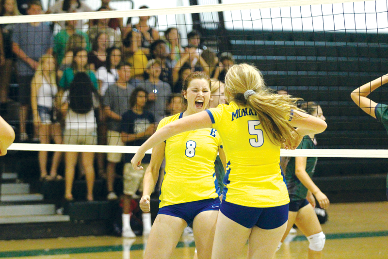 VOLLEYBALL: Wins over Sanger and El Diamante give Exeter the edge in seeding come playoff time