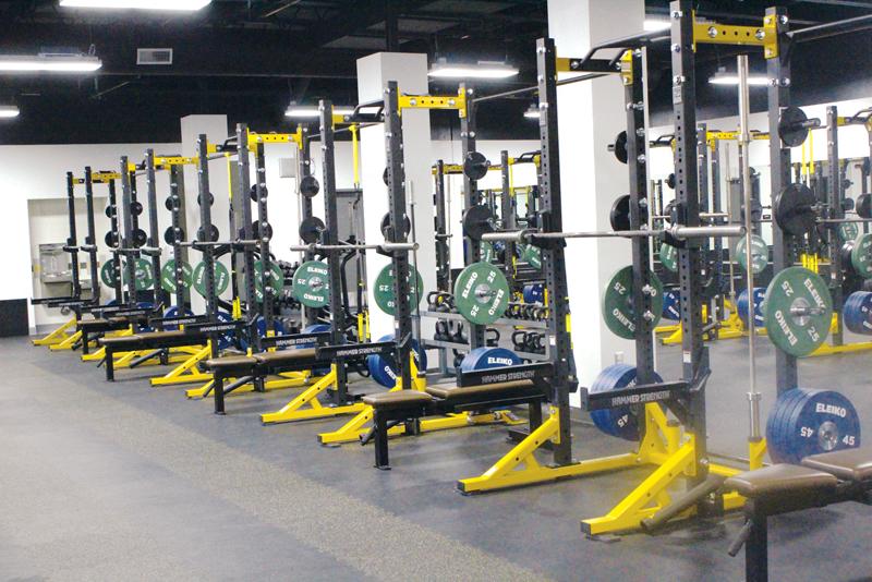 Golden West High School gets new weight room