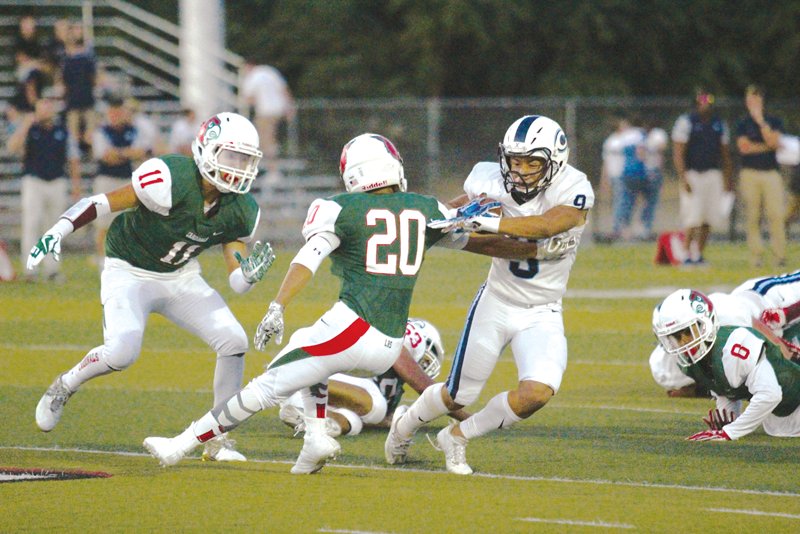 Football: Cavaliers clip Cardinals' wings