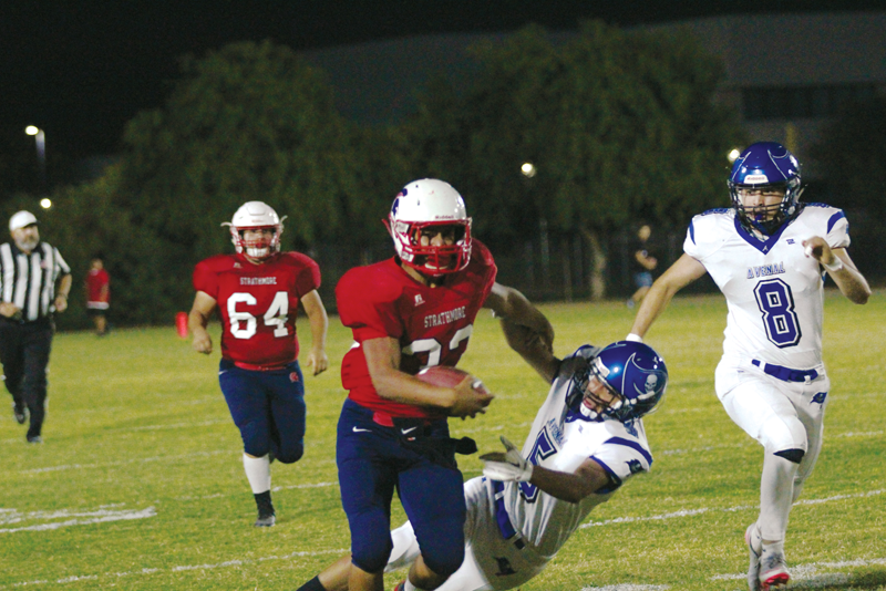 Football: Strathmore rolls through non-league 5-0