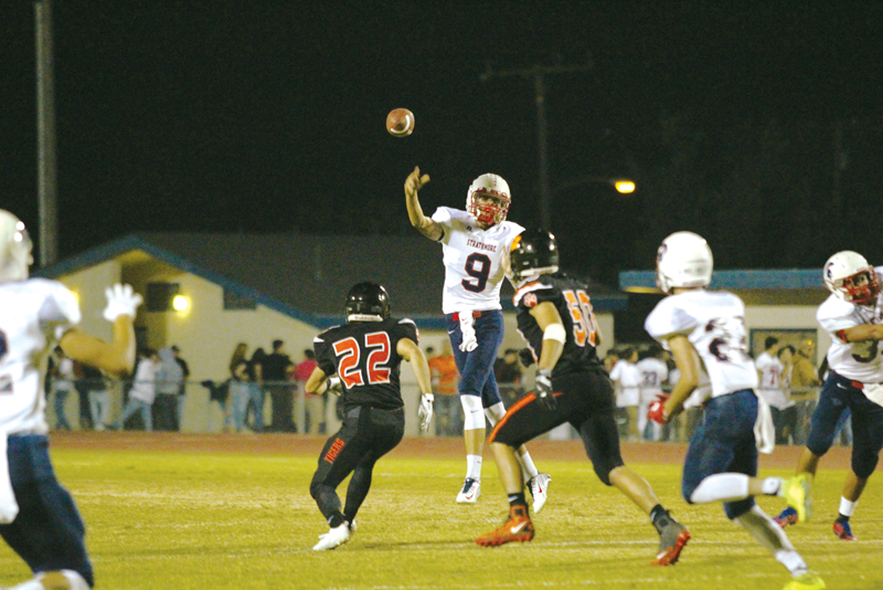 Football: Spartans continue their league dominance with their 8th straight East Sequoia League win