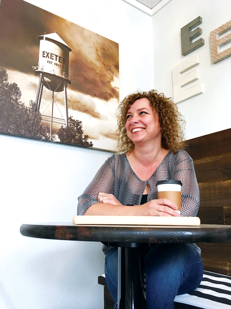 Staci Welch opens city-centric coffee shop, Exeter Coffee Company