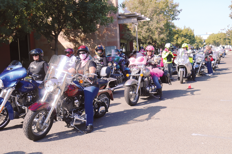 Lost Girls Motorcycle Ride and Witch Walk help pay for mammograms for uninsured/underinsured women and men in Tulare County