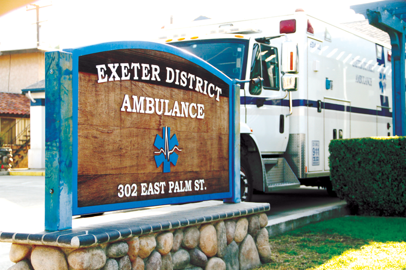 Exeter Dist. Ambulance outperforms ambulance providers since July
