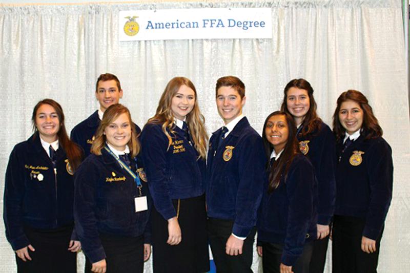 Exeter FFA takes high-octane delegates to Indianapolis