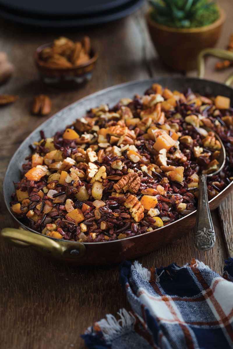 Pecans for Holiday Flavor: Pecan Wild Rice Pilaf Recipe