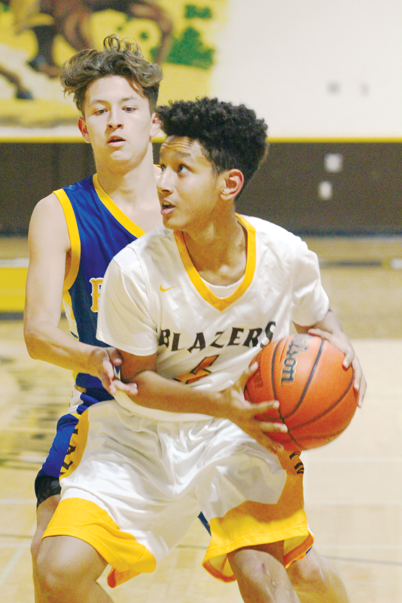 Boys Basketball: Blazers edge Monarchs 73-64 at home