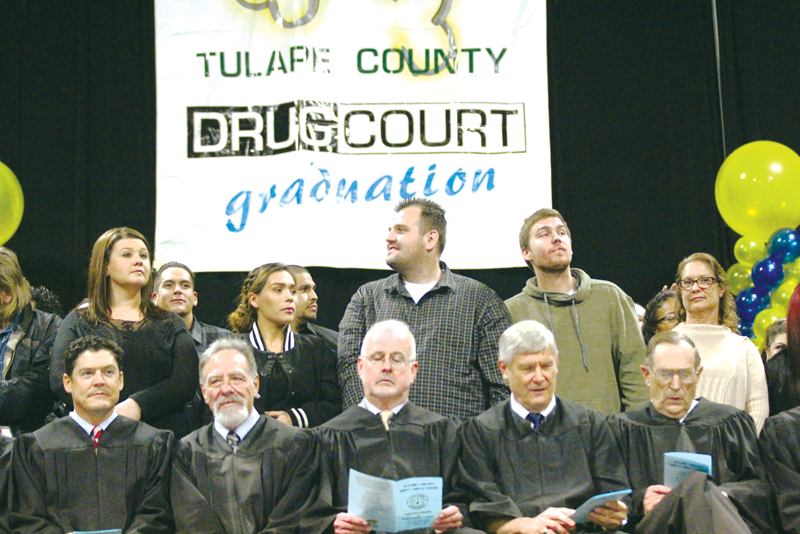 """Hope Dealer"" speaks at drug court graduation"