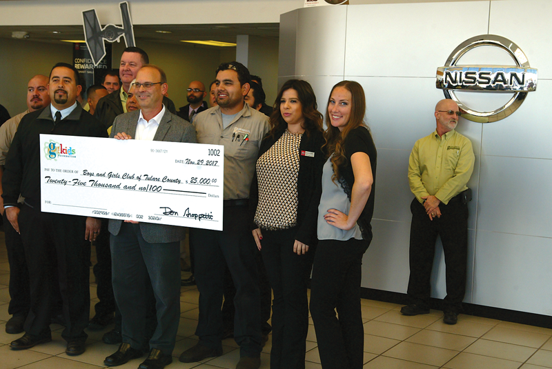 G for Kids Foundation donates a record $65,000 to four local non-profits serving children