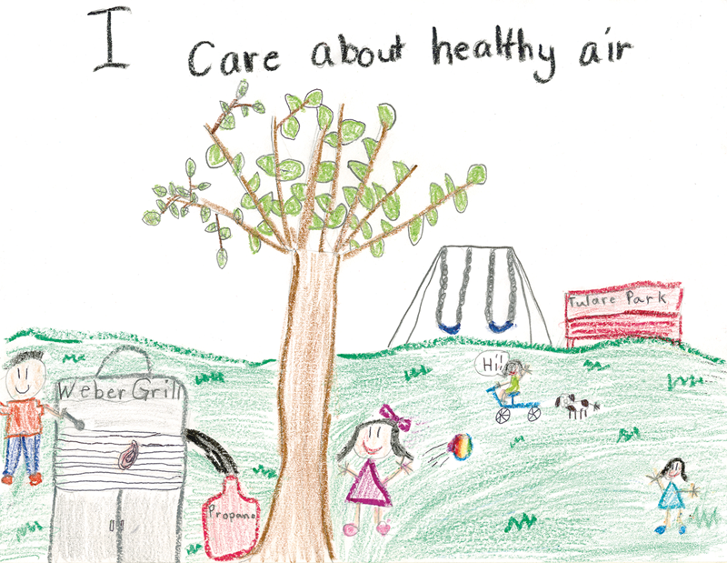The 2018 Healthy Air Living Kids' Calendars have arrived