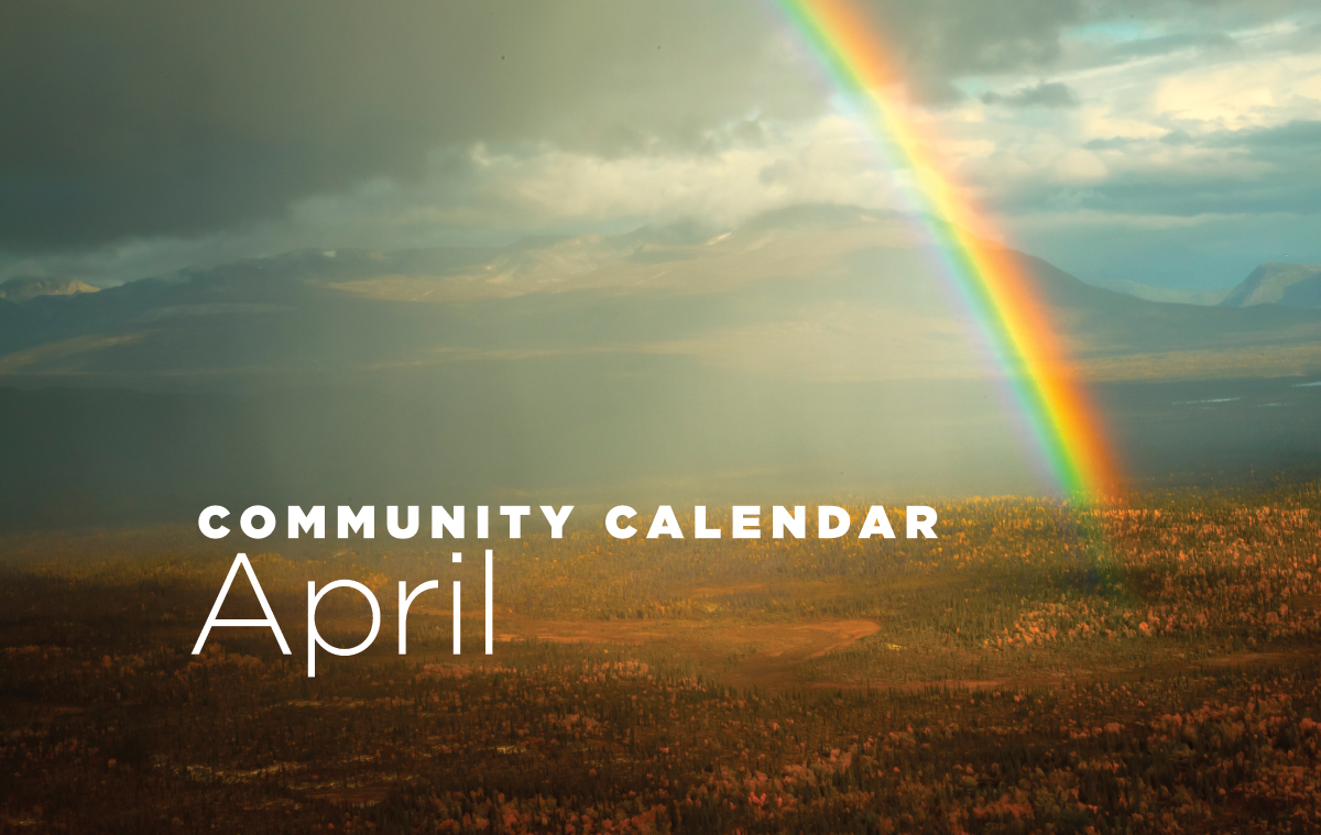 Community Calendar for April 2019