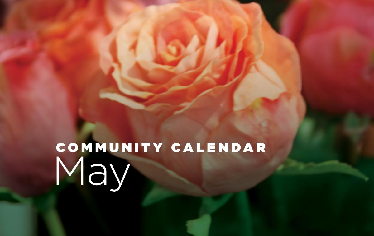 Community Calendar for May 2019