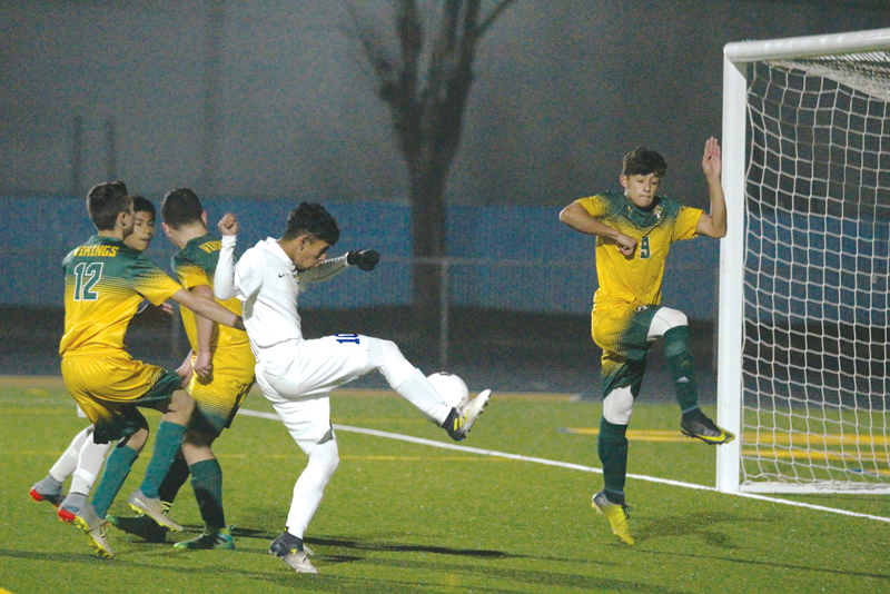 Boys Soccer: Exeter survives physical game against Kingsburg 1-0