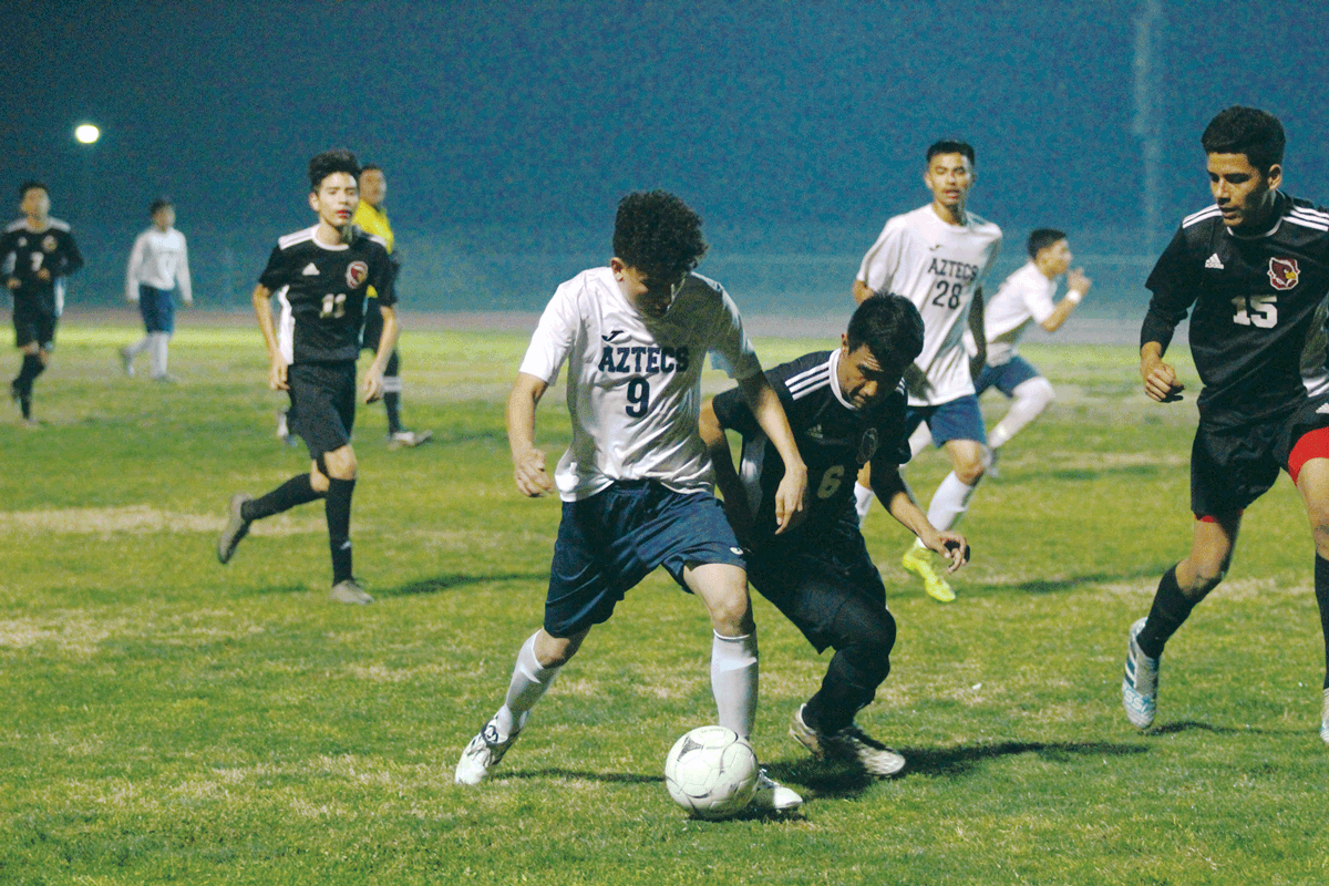 Boys Soccer: At a 1-1 tie for first place, Orosi eliminates Farmersville from league title race