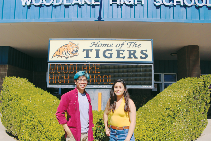 Woodlake Youths of the Year Claudia Zacarias and Carlos Lucatero use high school to discover their passions and build toward the future