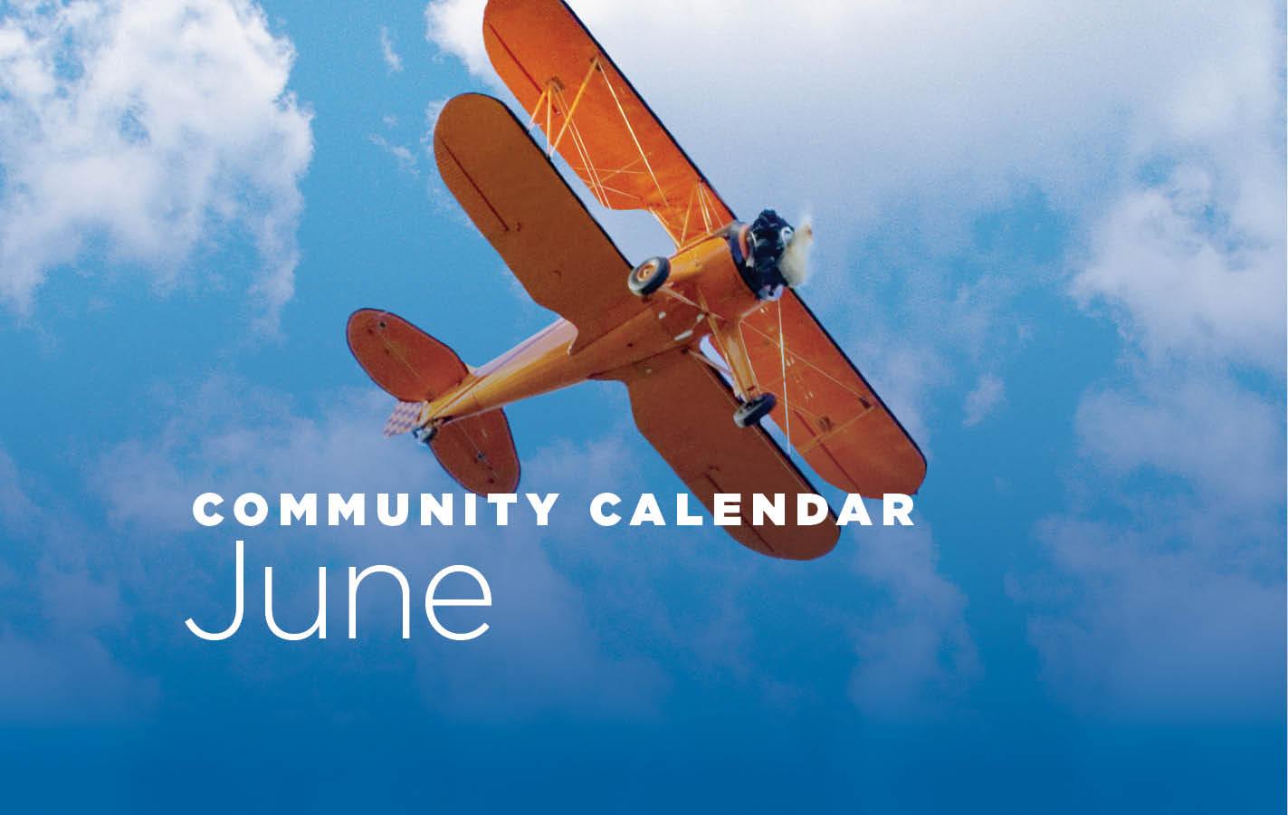 Community Calendar for June 2019