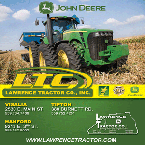 Advertisement. Lawrence Tractor Co.