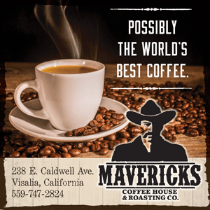 Advertisement. Mavericks Coffee Co.