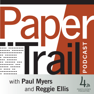 Advertisement. The Paper Trail Podcast.