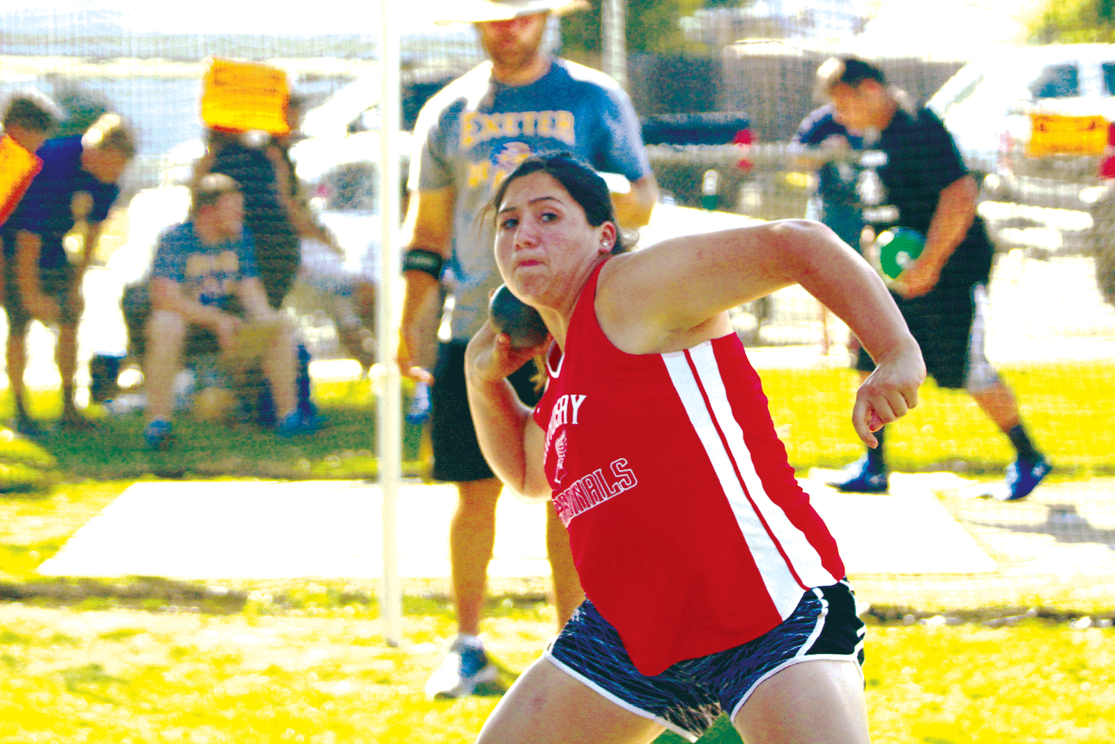 Lindsay's Marlena Gutierrez makes state in first year