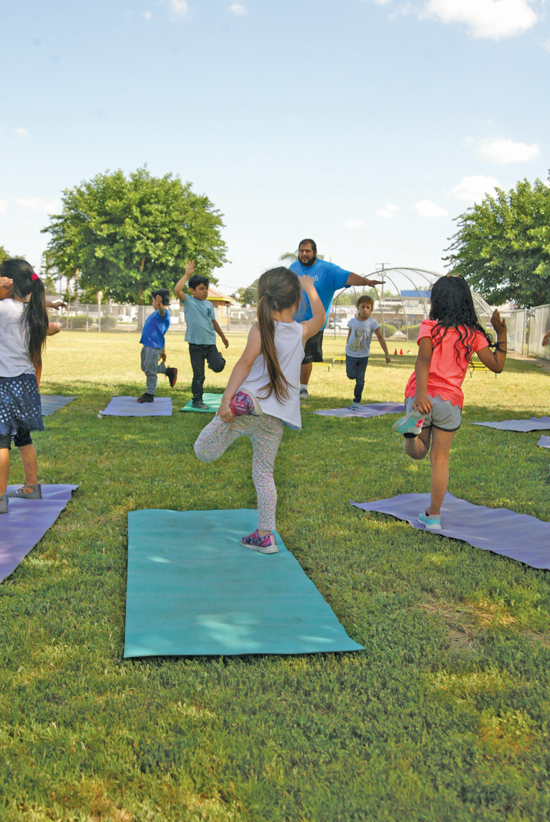 ProYouth's HEART program at Lincoln Elementary in Exeter honored with statewide designation for healthy behaviors