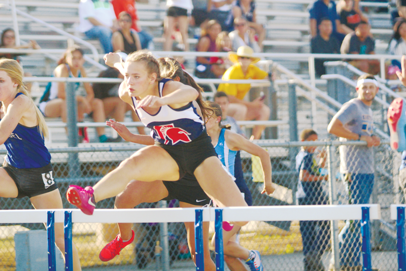 Foothill track athletes come up short on second day of state competition