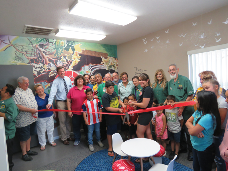 Self-Help Enterprises opens first of five Book Nooks at affordable housing complexes in Tulare County