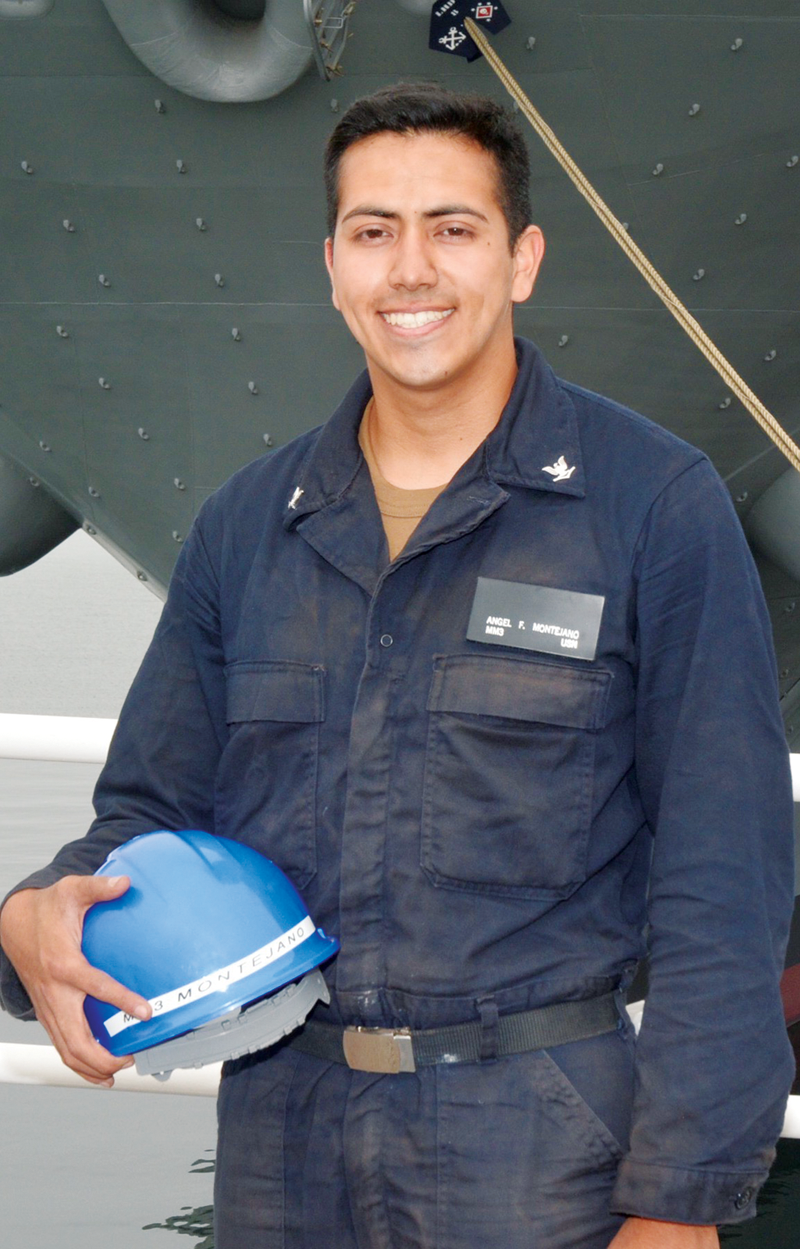 "Exeter native serves on a ""city at sea"" aboard Navy's largest amphibious warfare ship"