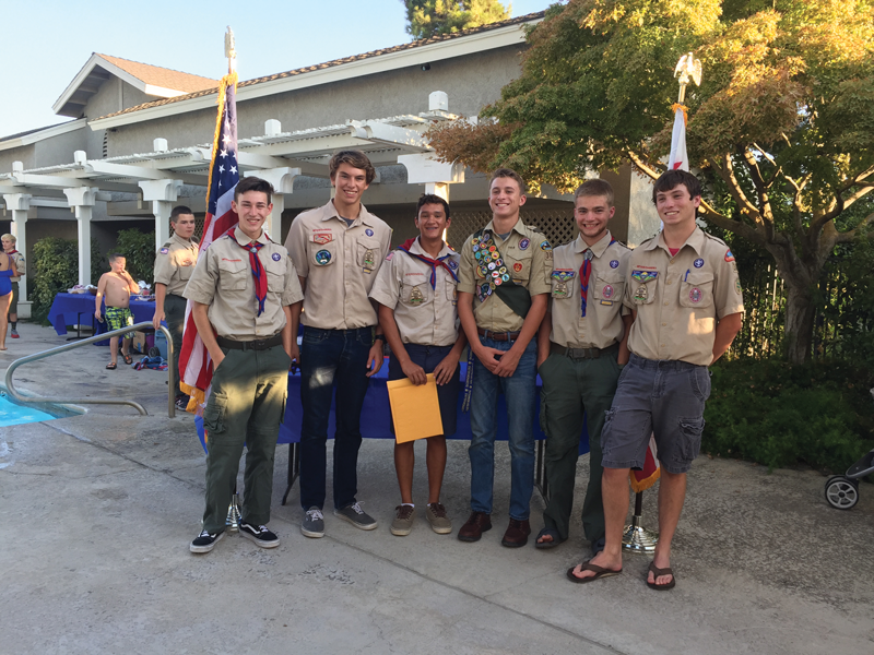 Six Exeter seniors soar to Boy Scouts' highest rank